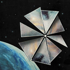 The Lady Who Sailed The Soul and the first Solar Sail