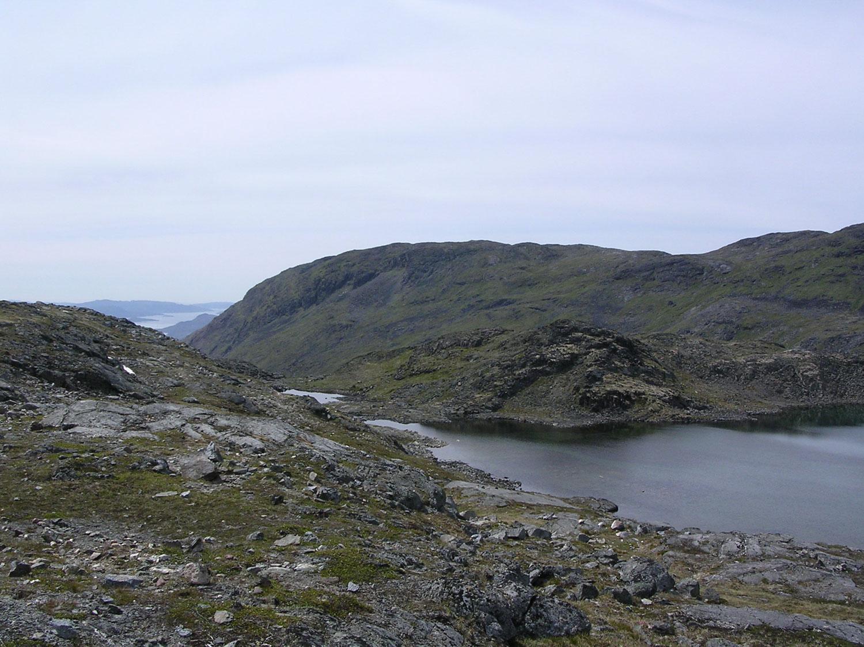 The Lake Below The Tugtupite Mines Of Kvanefjeld