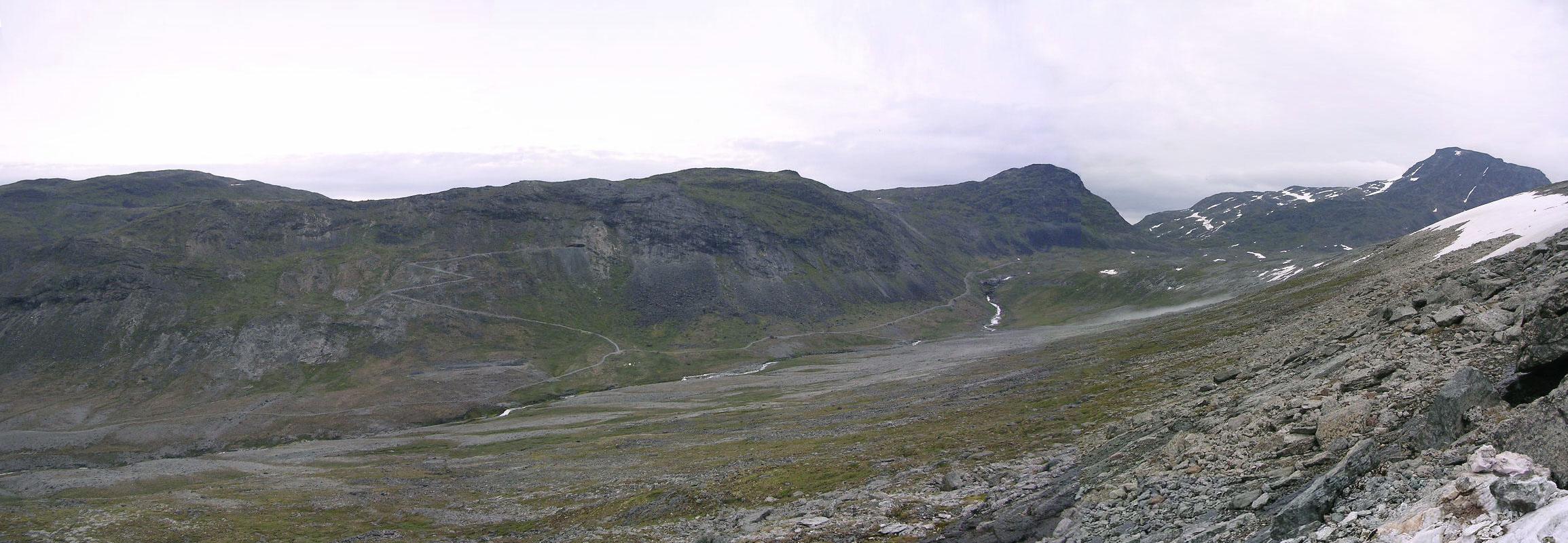 Panoramic View From Kvanefjeld To Taseq West