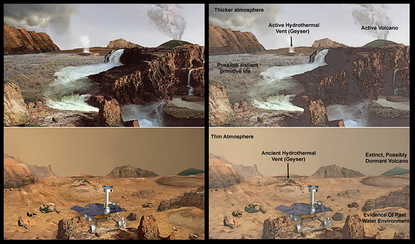 Mars Exploration Rover Mission: Home