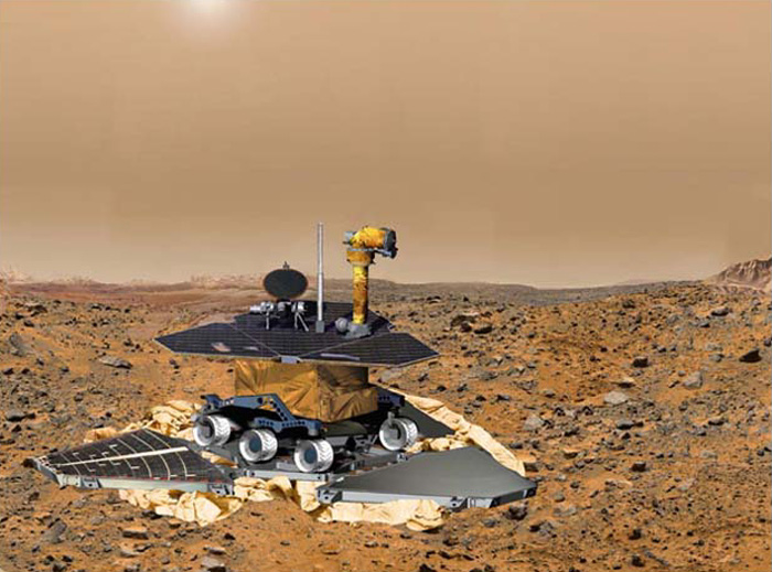 First Mars Rover - Pics about space