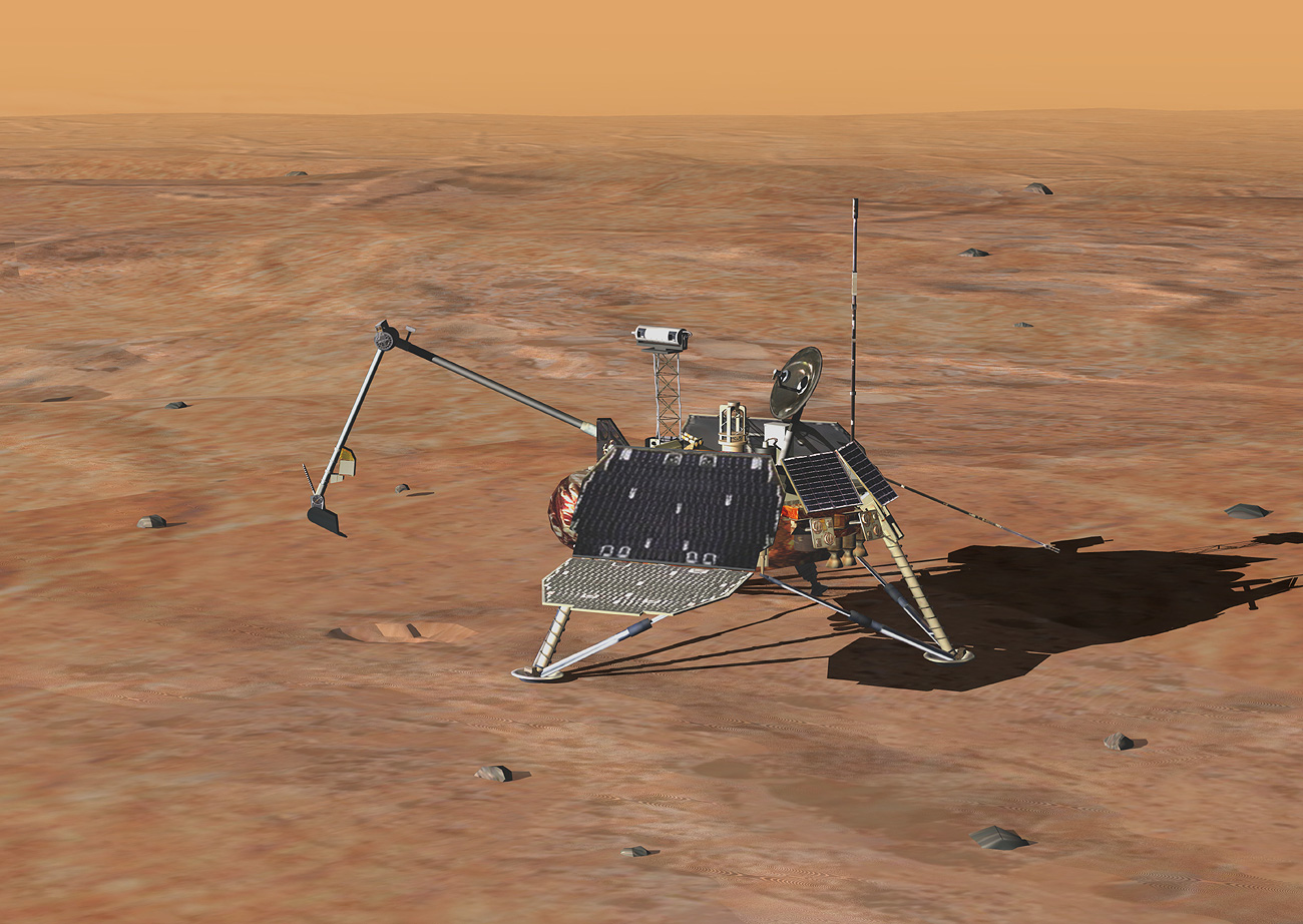 a mission of the mars polar lander No signal from mars lander, but european officials declare mission a success the european space agency's exomars mission delivered the schiaparelli lander to mars's orbit on wednesday it too failed the mars polar lander.