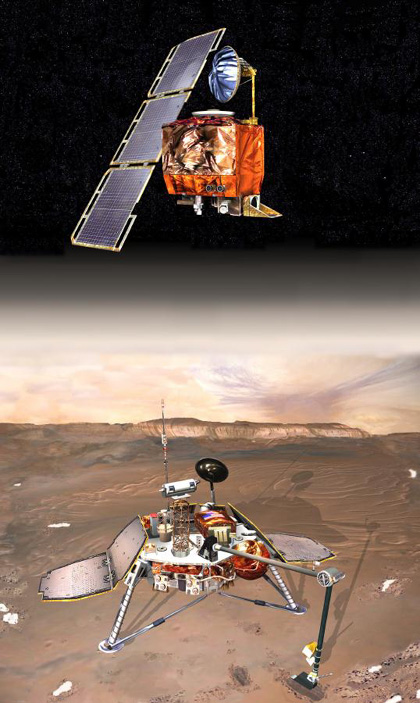 The exploration of the mars polar lander