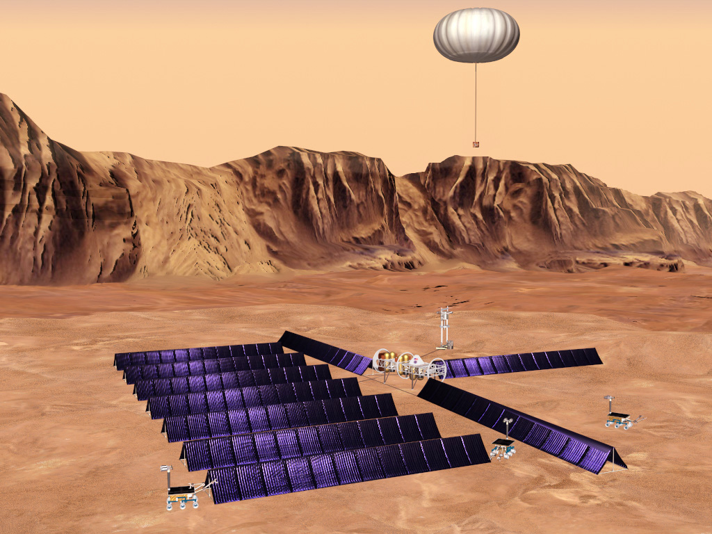 solar power mission to mars - photo #4